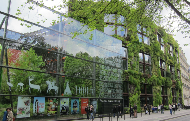 Entrance, Musée du quai Branly