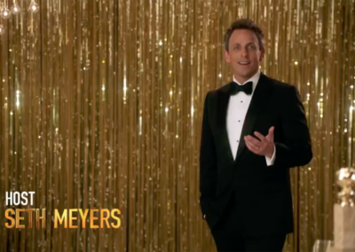 Golden Globes • Seth Meyers Promo
